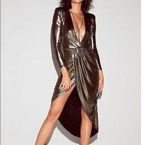 Sexy metallic dress